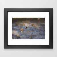 Sand Like Snow Framed Art Print