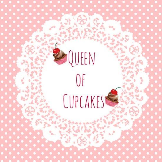 Queen of Cupcakes Art Print