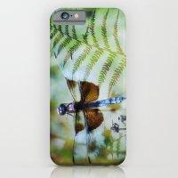 Dragonfly :: Winged Fern iPhone 6 Slim Case