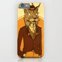 {Bosque Animal} Lince iPhone 6 Slim Case