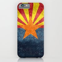 iPhone Cases featuring The State flag of Arizona, the 48th state! by LonestarDesigns2020 - Flags Designs +