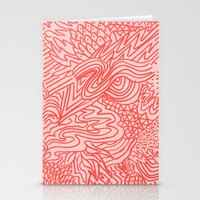 high red Stationery Cards