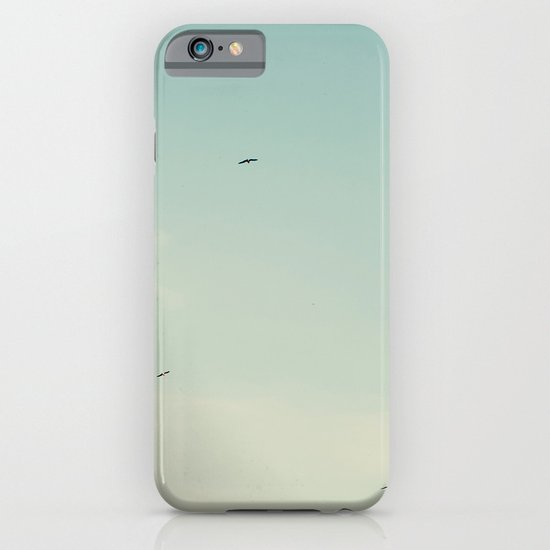 The moon and the birds iPhone & iPod Case