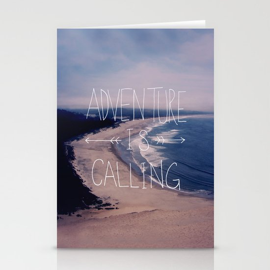 Adventure is Calling Stationery Card