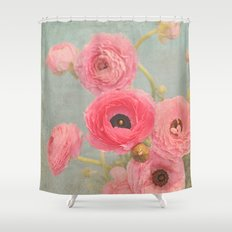 Vintage Romance Shower Curtain