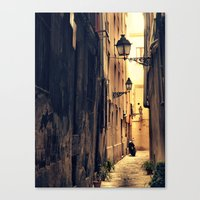 House of sun Canvas Print