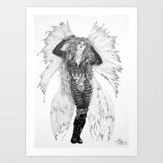 Fairy - Tatiana Art Print