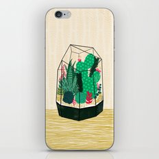 Terrarium - Geodesic Plant for Succulents and Cactus by Andrea Lauren iPhone & iPod Skin