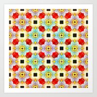 Embellecimiento Pattern Art Print