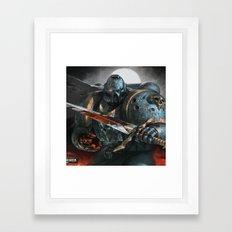 Warhammer Soldier Framed Art Print