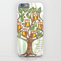Owl Tree iPhone 6 Slim Case