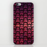 Stormtroopers on Red Stars iPhone & iPod Skin