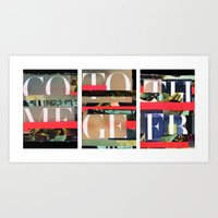 ComeTogether Art Print