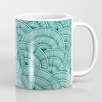 Swirls Green Mug