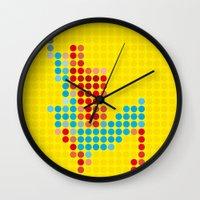 Mr Spidey 1 Wall Clock