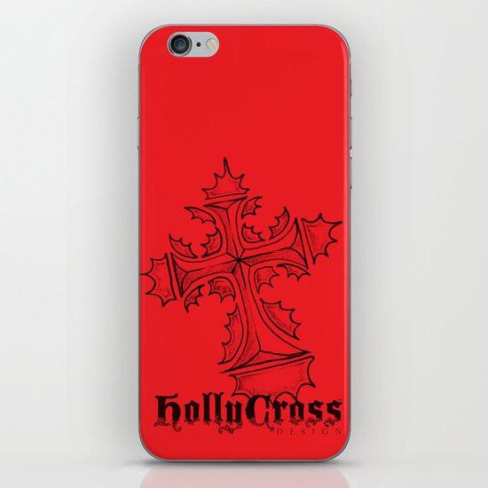 HollyCross Sketch iPhone & iPod Skin
