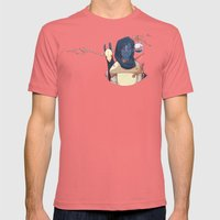 Hunter Gather Mens Fitted Tee Pomegranate SMALL