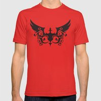 Coalition Mens Fitted Tee Red SMALL