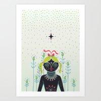 Betiya Art Print
