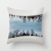 Hamilton, Illinois Throw Pillow