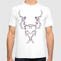 Mask-lers Mens Fitted Tee White SMALL