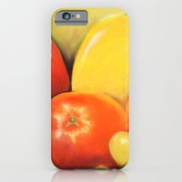 Fruit - Pastel Illustration iPhone 6 Slim Case