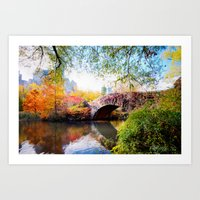 Last Autumn In Central P… Art Print
