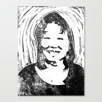 Eileen Stamp Canvas Print