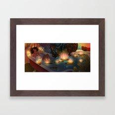 Paradise II Framed Art Print