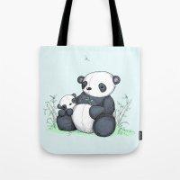 Plushie Pandas Tote Bag