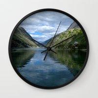 Rondane - Rondevannet  N… Wall Clock