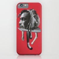 iPhone Cases featuring Sad by fabiotir
