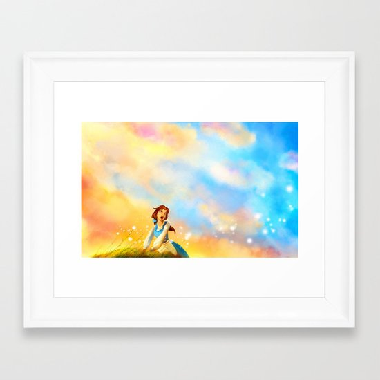 This Provincial Life Framed Art Print