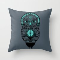 Guardian of the Lost Throw Pillow