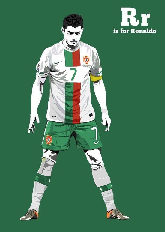 R is for Ronaldo Art Print