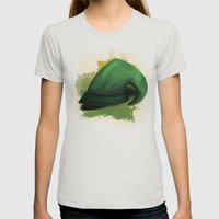 Link Womens Fitted Tee Silver SMALL