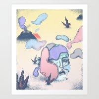 Nuevos Atavíos Art Print