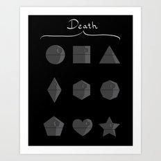 Sith geometry lessons Art Print
