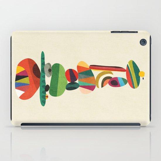 Totem - balanced pebbles iPad Case