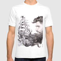 Sailor's Beard Mens Fitted Tee White SMALL