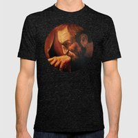 Incredulity of Thomas Mens Fitted Tee Tri-Black SMALL