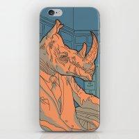 Being A Rhino Like A Sir iPhone & iPod Skin