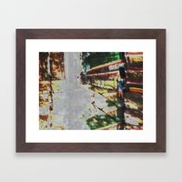 A balance between we and they but the as yet I, 03 Framed Art Print