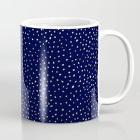 Dotted Gold & Midnight Mug