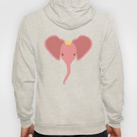 Pink Elephants Everywhere Hoody