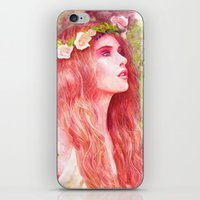 Flowering iPhone & iPod Skin
