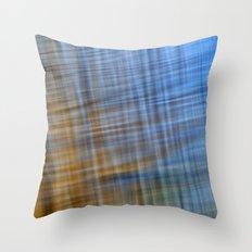 Water Pattern #4 Throw Pillow