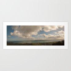 Belfast Lough Panorama Art Print