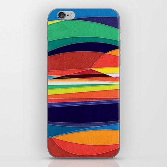 Turn Around iPhone & iPod Skin
