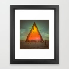 WALK AWAY (everyday 11.2… Framed Art Print